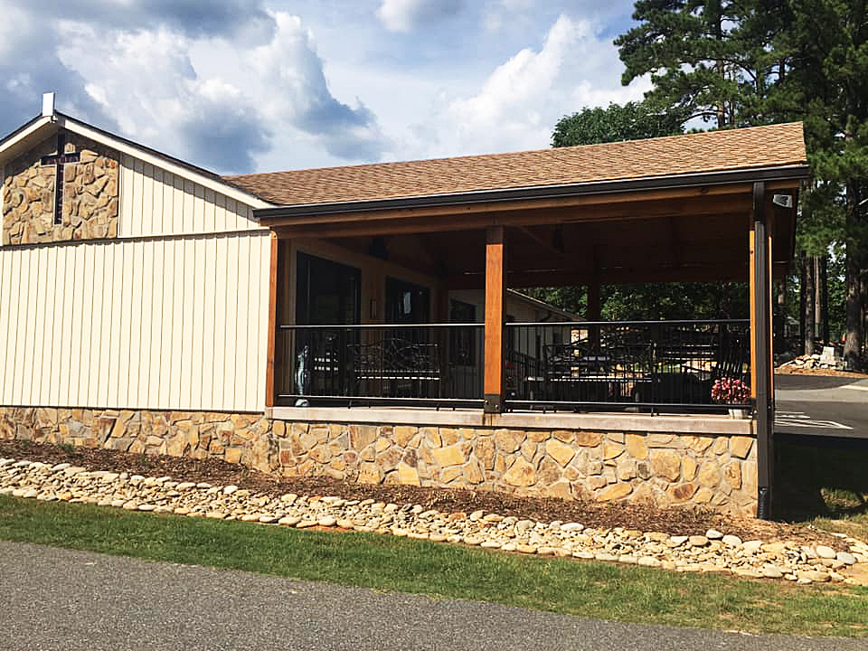 Another view of our Village Club House and Picnic Shelter